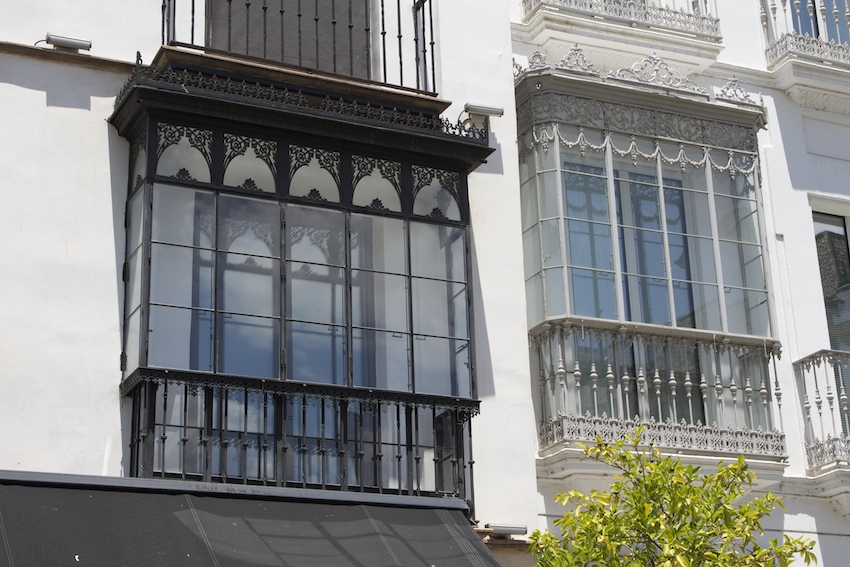 Fancy windows in Sevilla