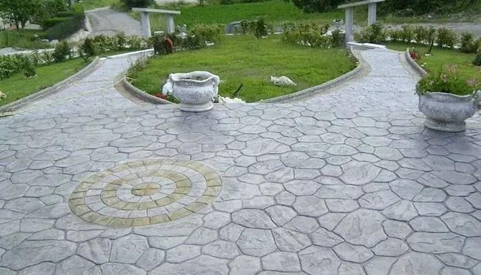 pavimento esterno cemento industriale
