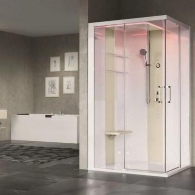 cabina doccia mutifunzione rettangolare skill