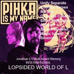 @Lopsided World Of L -SUNDAY April 25, 8pm, 2021