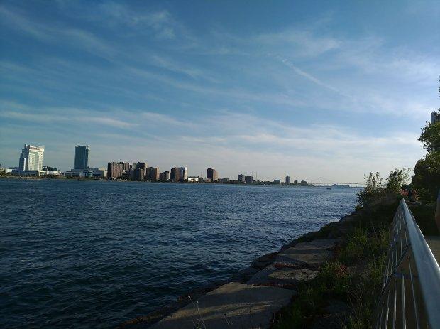 Detroit, Michigan Riverwalk