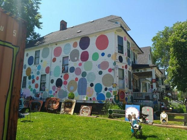 Heidelberg Project in Detroit, Michigan
