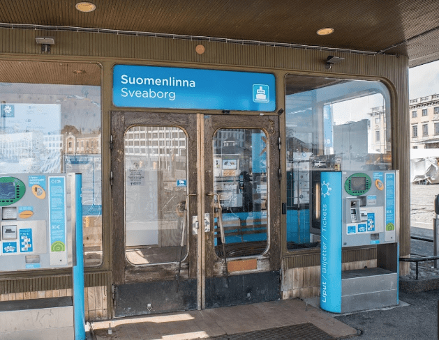 Ferry Terminal to Suomenlinna, Helsinki Finland
