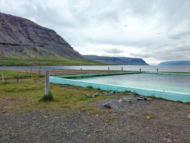 Reykjafjarðarlaug Hot Pot in West Fjords Iceland | www.andiamoaurora.com
