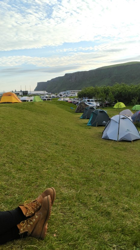 Guide to Camping in Iceland | Andiamo Aurora | Thinking about camping in Iceland? Explore all of Iceland's regions with your tent! It's a wallet-friendly way to see all that the country has to offer.