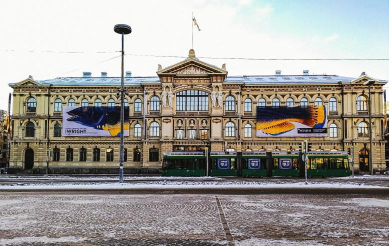 Ateneum Art Museum (Finnish National Gallery) in Helsinki, Finland