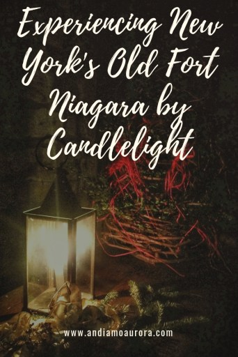 Castle by Candlelight at Old Fort Niagara | Andiamo Aurora |  Each December, Old Fort Niagara is decked in festive evergreens and illuminated for Castle by Candlelight . Don't miss this Buffalo Niagara holiday event.