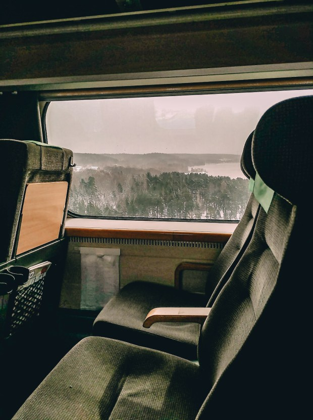 Train from Stockholm, Sweden to Oslo, Norway