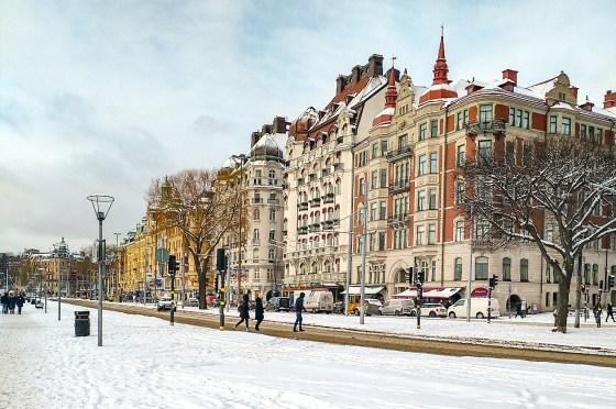 perfect day in stockholm on Strandvägen
