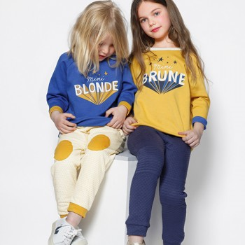 Blune sweat-mini-blonde