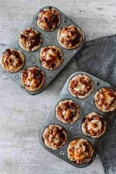Farmhouse Breakfast Biscuit Muffins