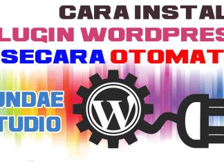 Instal Plugin WordPress Secara Otomatis