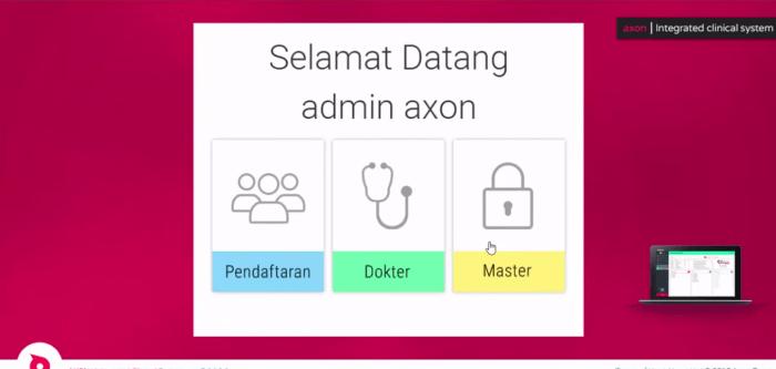 Hak akses software informasi klinik dan apotek