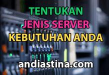 Jenis dan tipe hosting server website