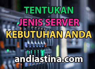 Jenis dan tipe hosting server website
