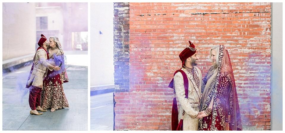 Indian groom and bride portraits| Tulsa Hindu wedding| Indian wedding Tulsa| Andi Bravo Photography