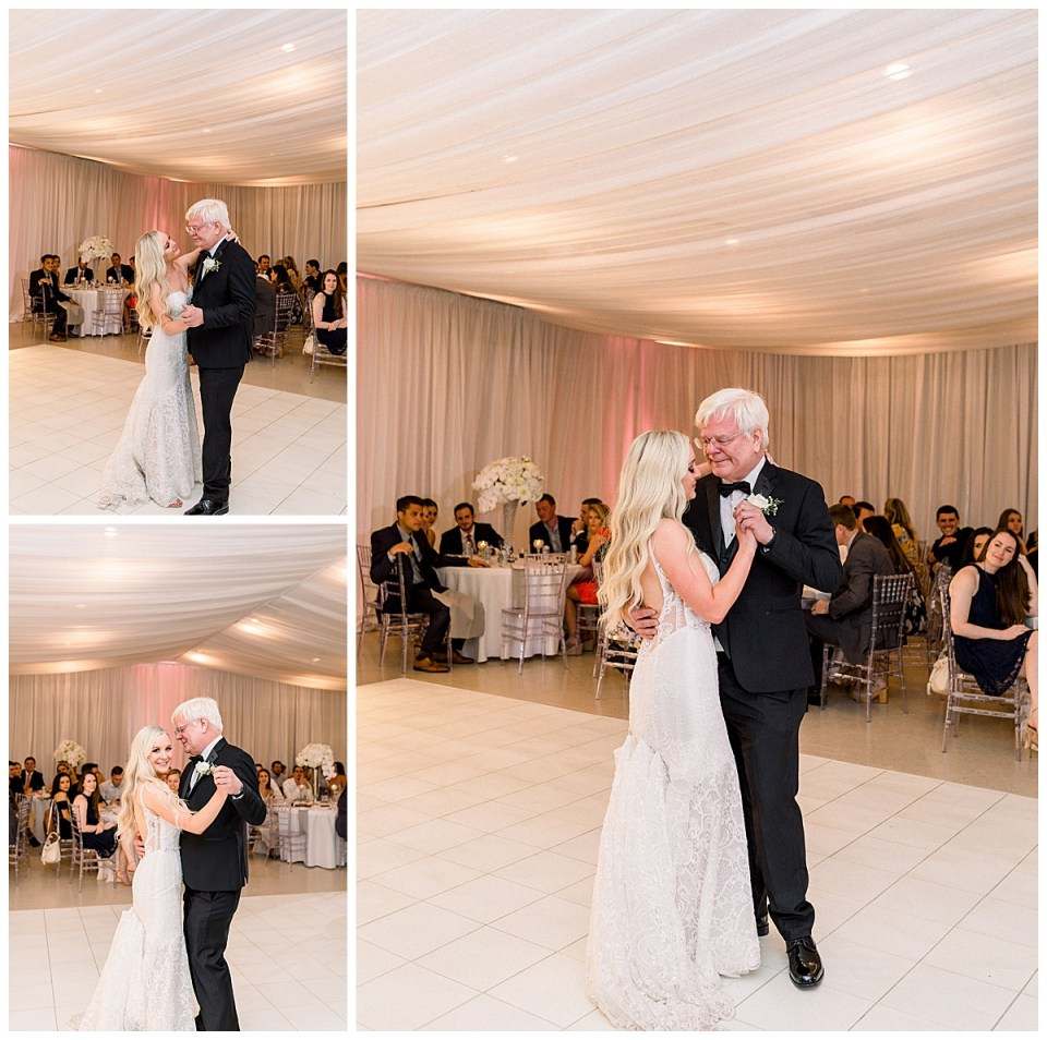 Father of the bride dance| father daughter dance at wedding| Andi Bravo Photography