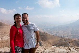 Lookout of Wadi Mujib from The Kings Highway
