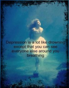 best-depressing-quotes-depression-is-a-lot-like-drowning