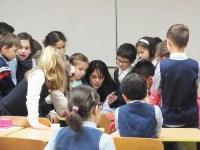 Întâlnire cu copiii de la școala primară a Seminarului Teologic Ortodox din Cluj Napoca