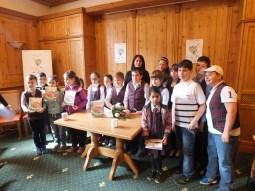 Poză de grup la Turnirul Scriitorilor