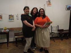 Cu Arina Stoenescu și Andra Badea