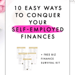 10 Easy Ways to Conquer Your Self-Employed Finances