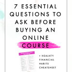 7 Essential Questions to Ask Before Buying an Online Course