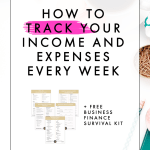 How to Track Your Income and Expenses Every Week