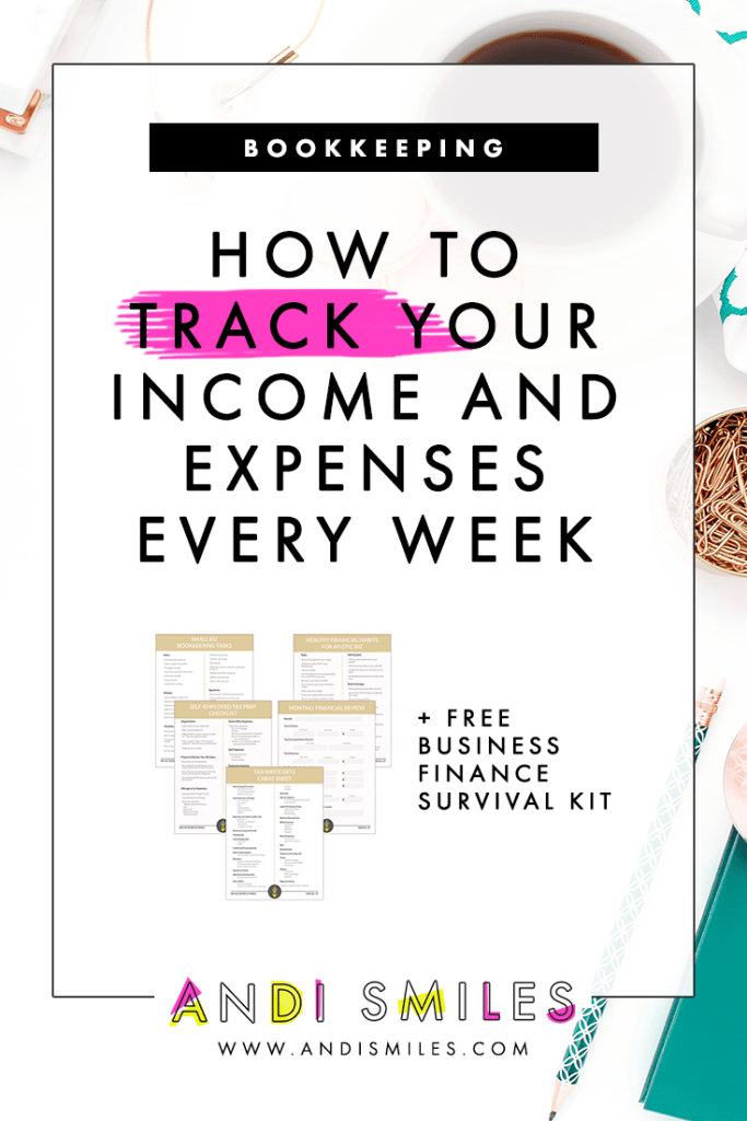 Ever wonder what a bookkeeper does every week for her own bookkeeping? Today I'm lifting the veil and sharing my personal bookkeeping routine for my own small business. I'm walking you through every task that I perform each week and you'll leave with your very own bookkeeping checklist. Click through to learn how you can track your income and expense every week like a pro bookkeeper! #bookkeeping #selfemployed