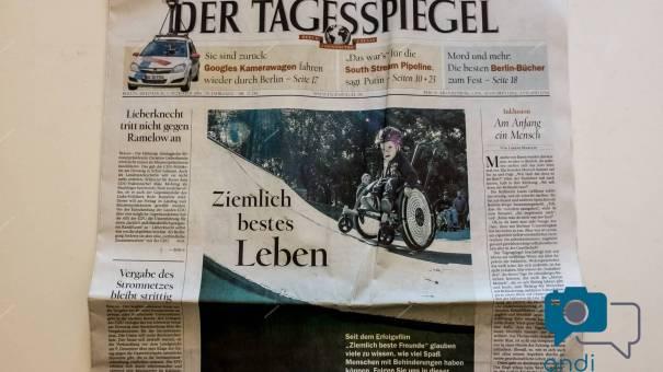Ein Bild von dem Tagesspiegel am 3. Dezember 2014