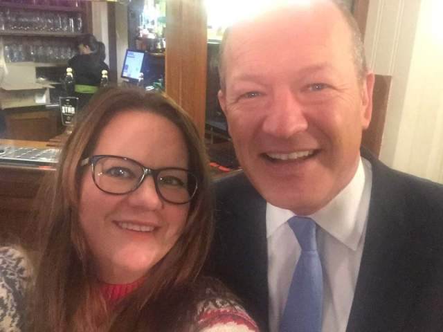tour of parliament selfie simon danczuk