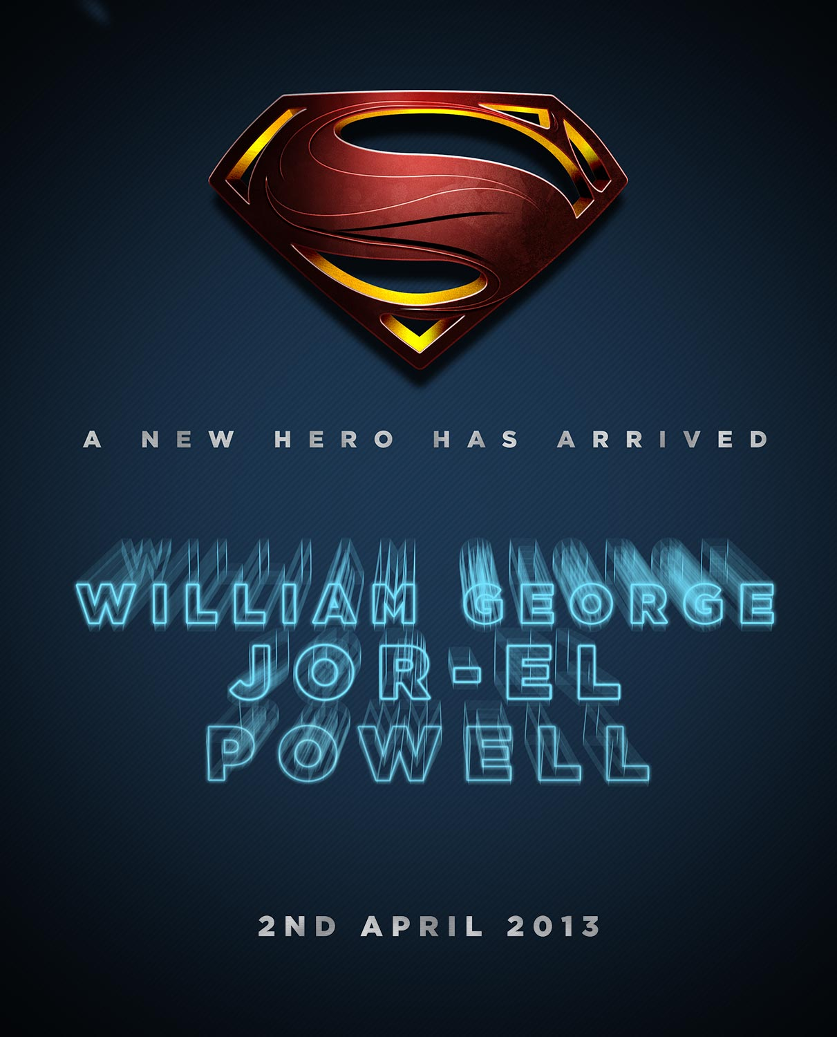 Son of Jor'El | A Superman Print: By Factory, Digital Agency In Manchester