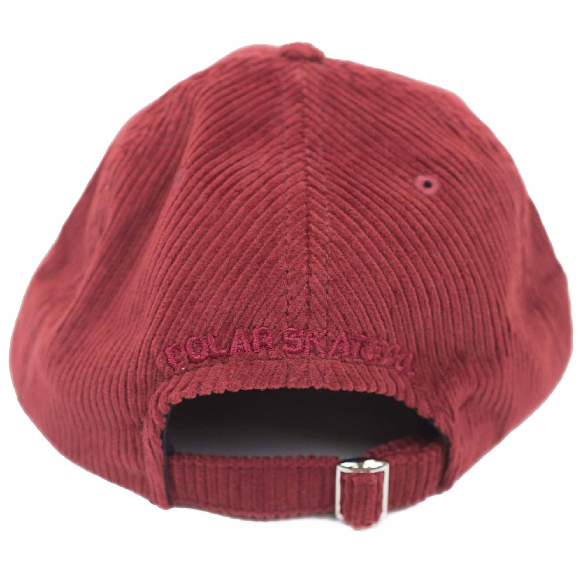 Polar Skate Co. Corduroy Cap - Red