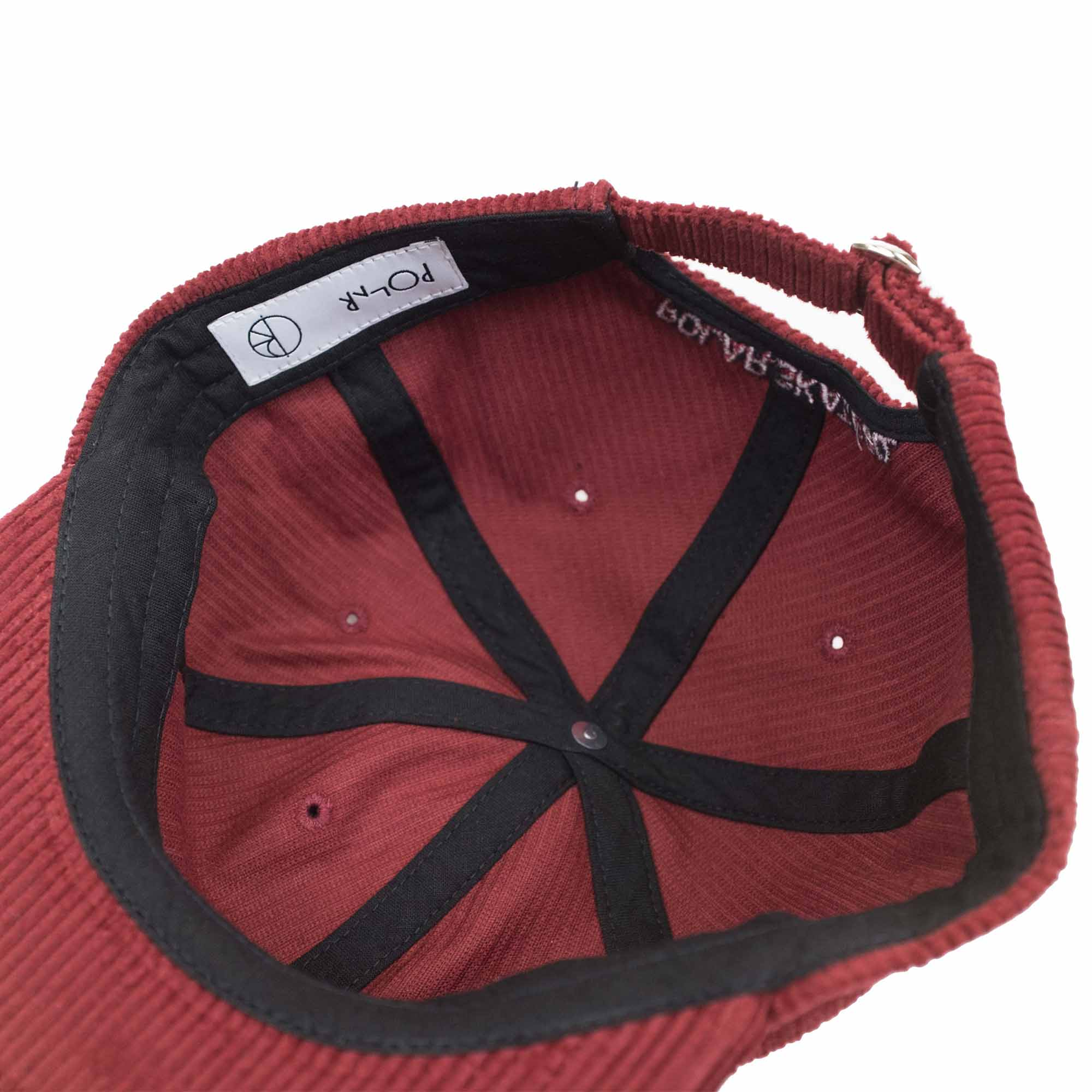 3e678073b5c Polar Skate Co. Corduroy Cap - Red