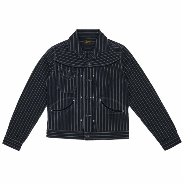 Stevenson Overall Co. Deputy Jacket - Black Stripe