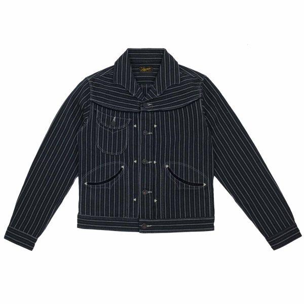 Stevenson Overall Co. Deputy Jacket - Black Stripe