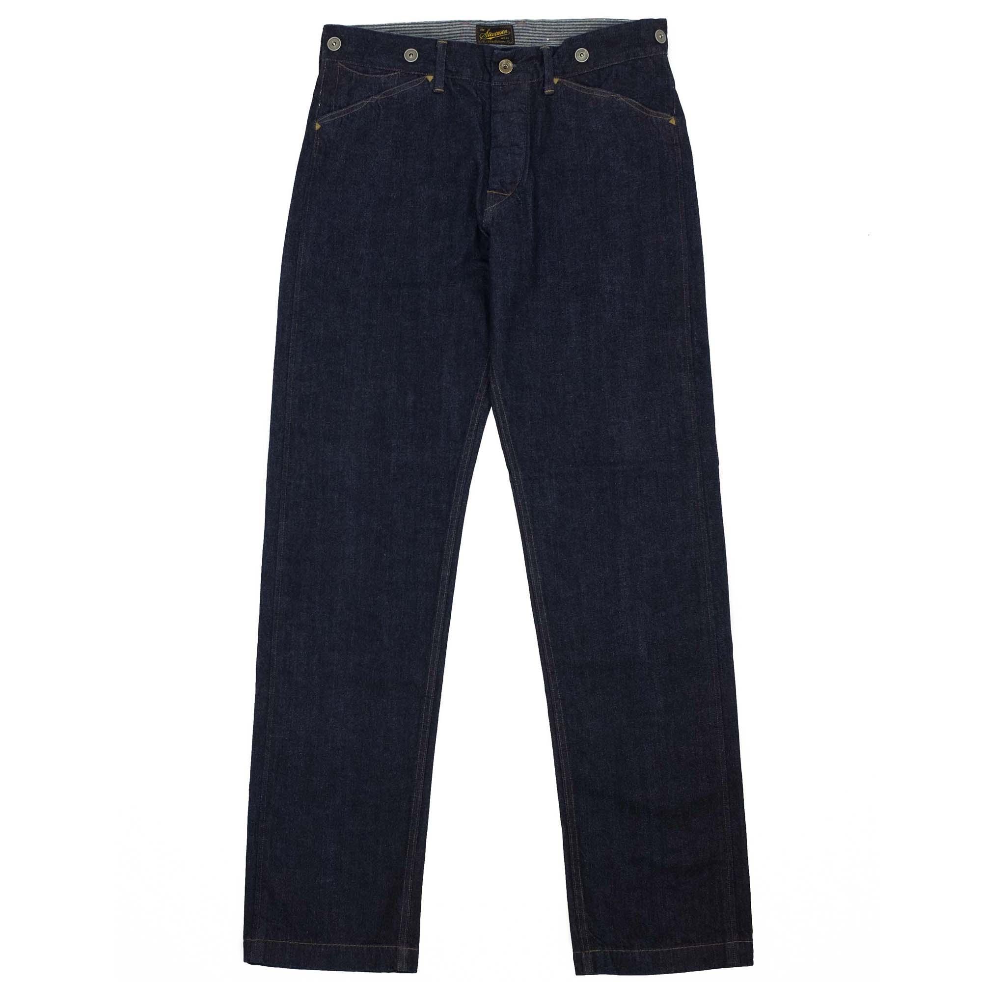 Stevenson Overall Co. Gambler Jeans - Indigo