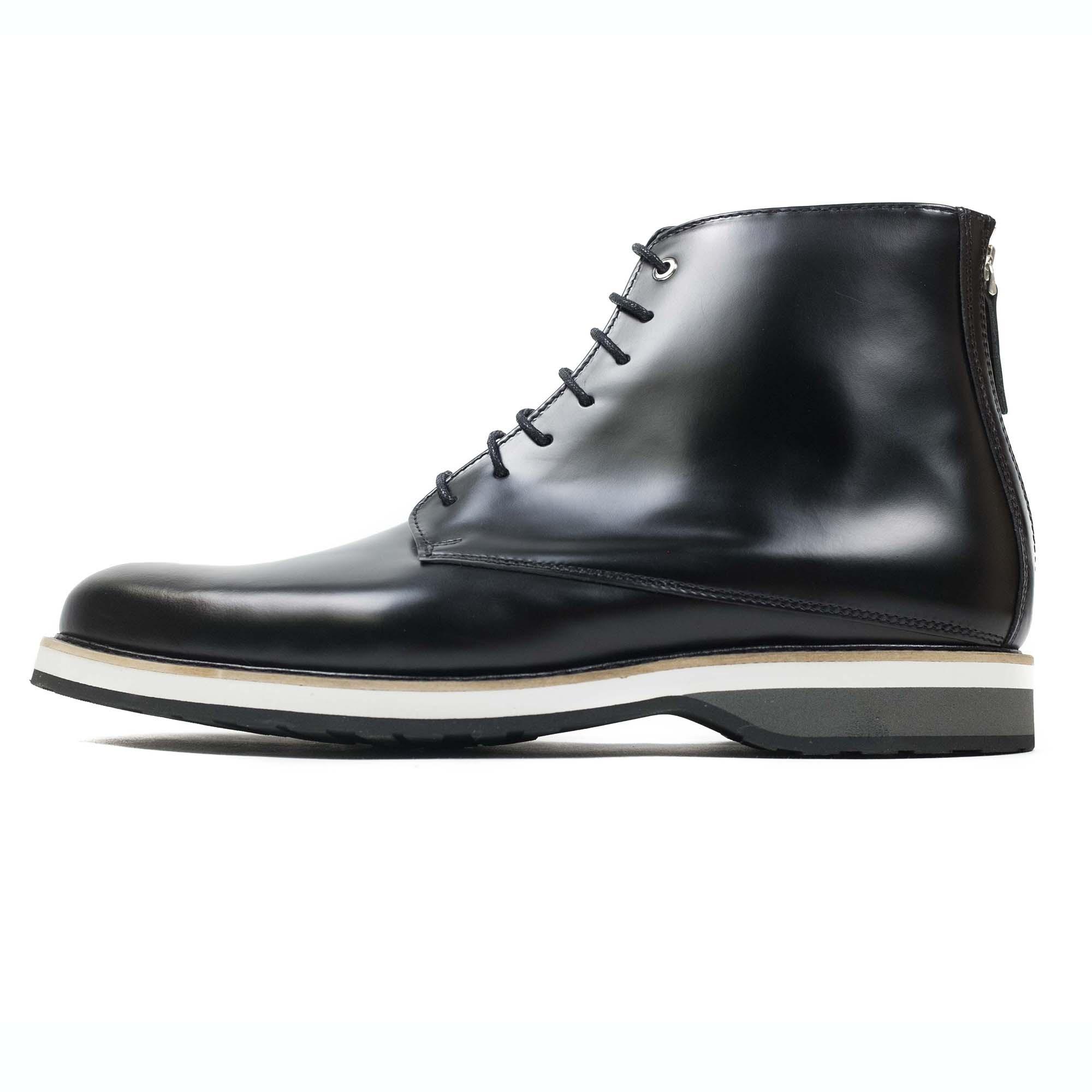 WANT Les Essentiels Montoro High Derby Boot - Black