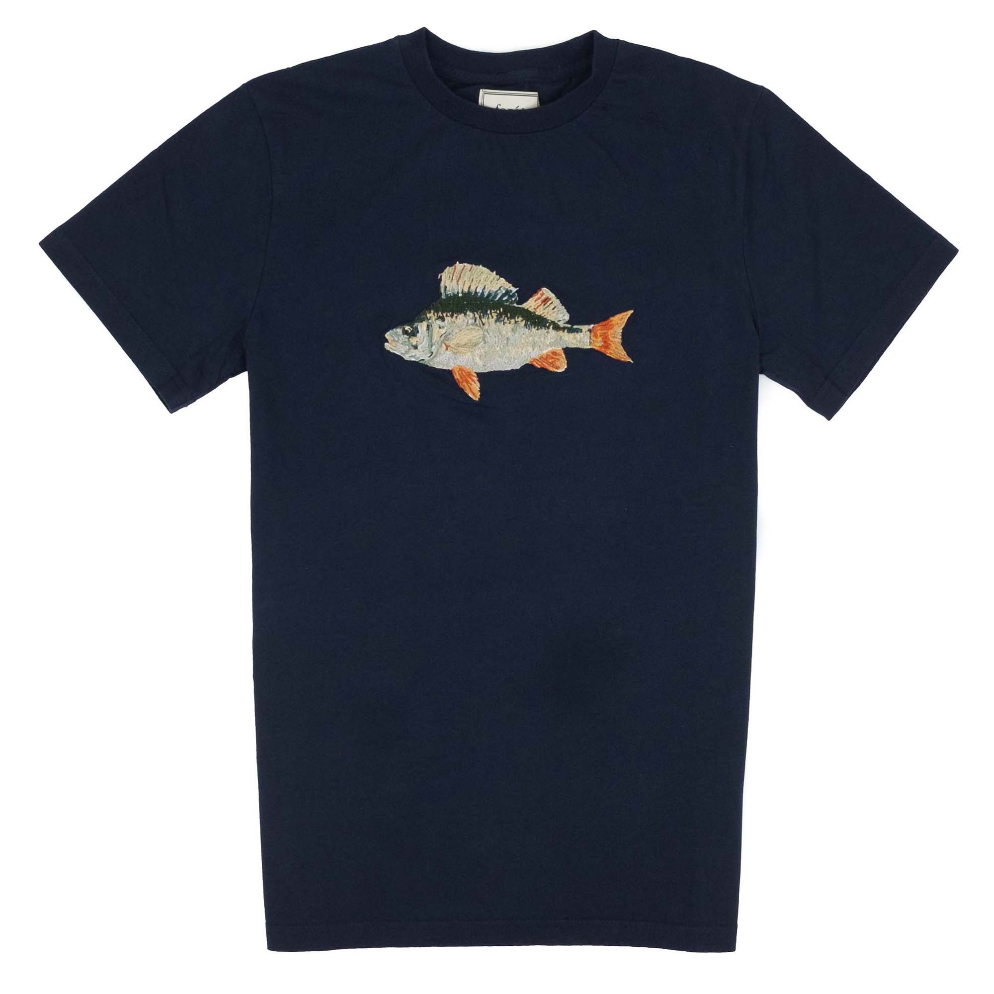 forét Perch T Shirt - Midnight Blue