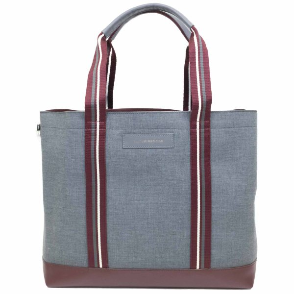 WANT Les Essentiels Marti Shopper Tote - Multi Heather Grey/Varsity Str