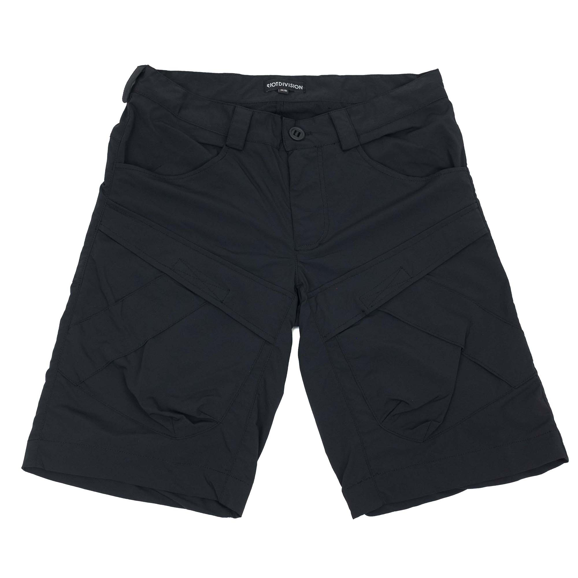 Riot Division Two Pockets Shorts Modified - Black