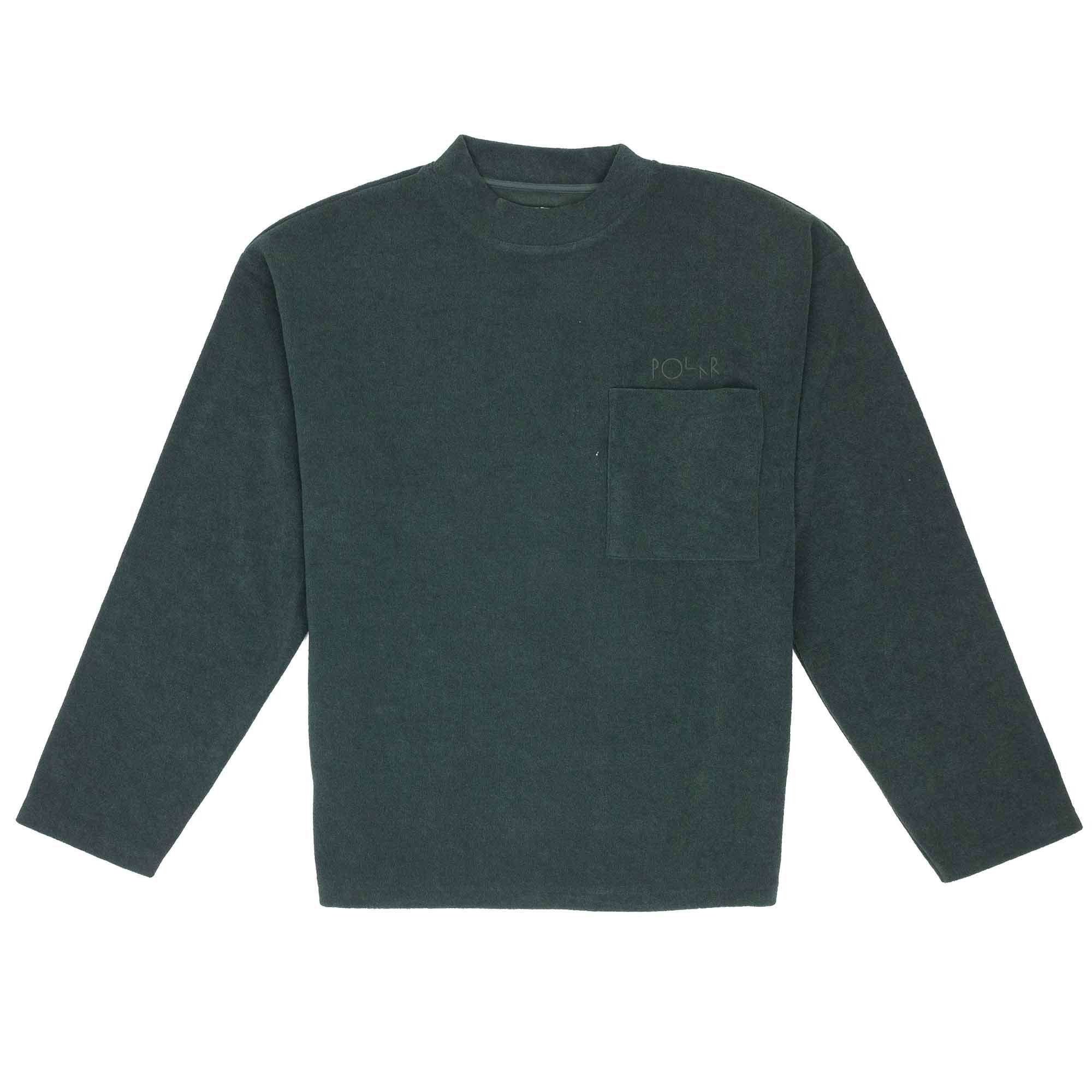 Polar Skate Co. Terry Pullover - Dark Green