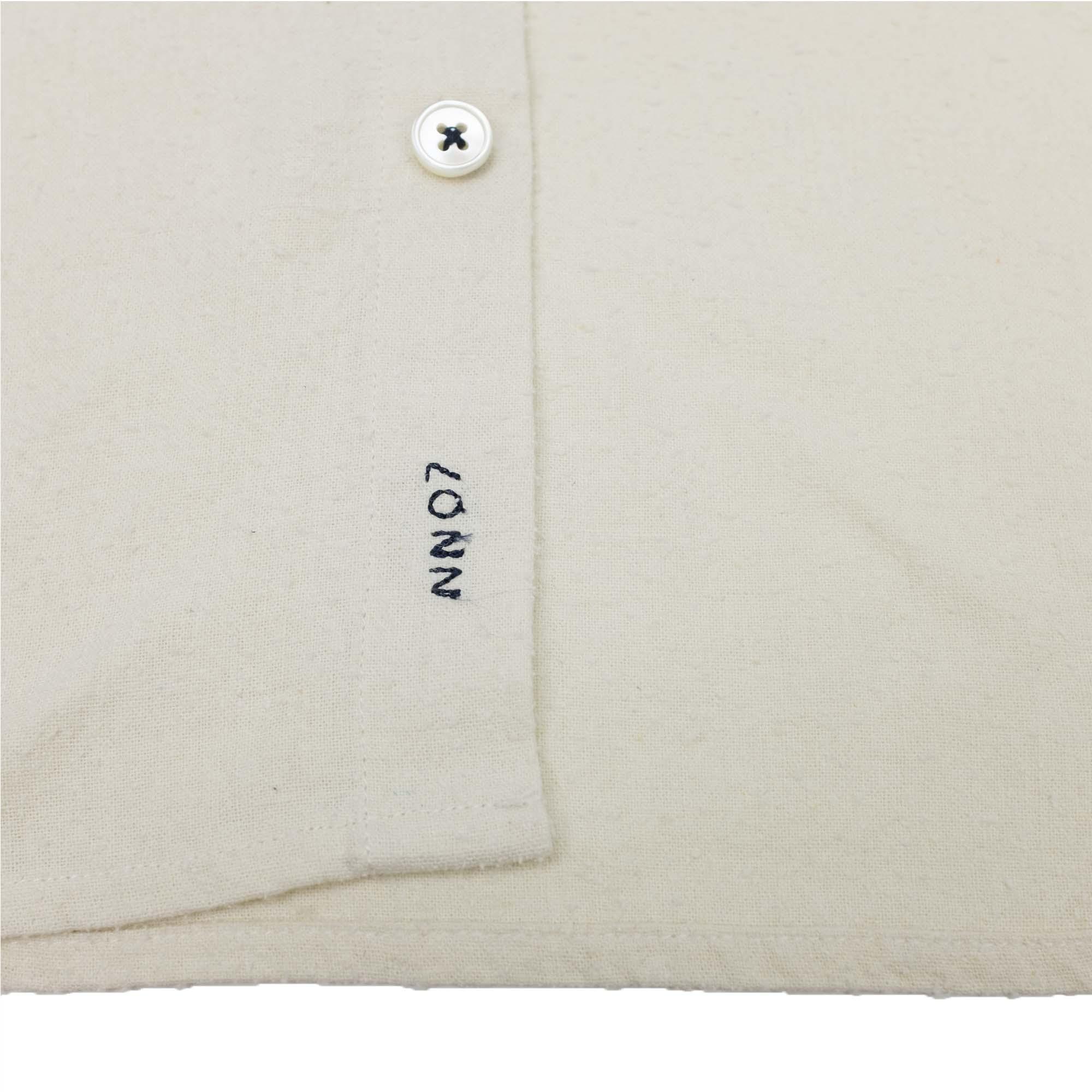 NN07 Alberto 5107 Silk Shirt - Ivory