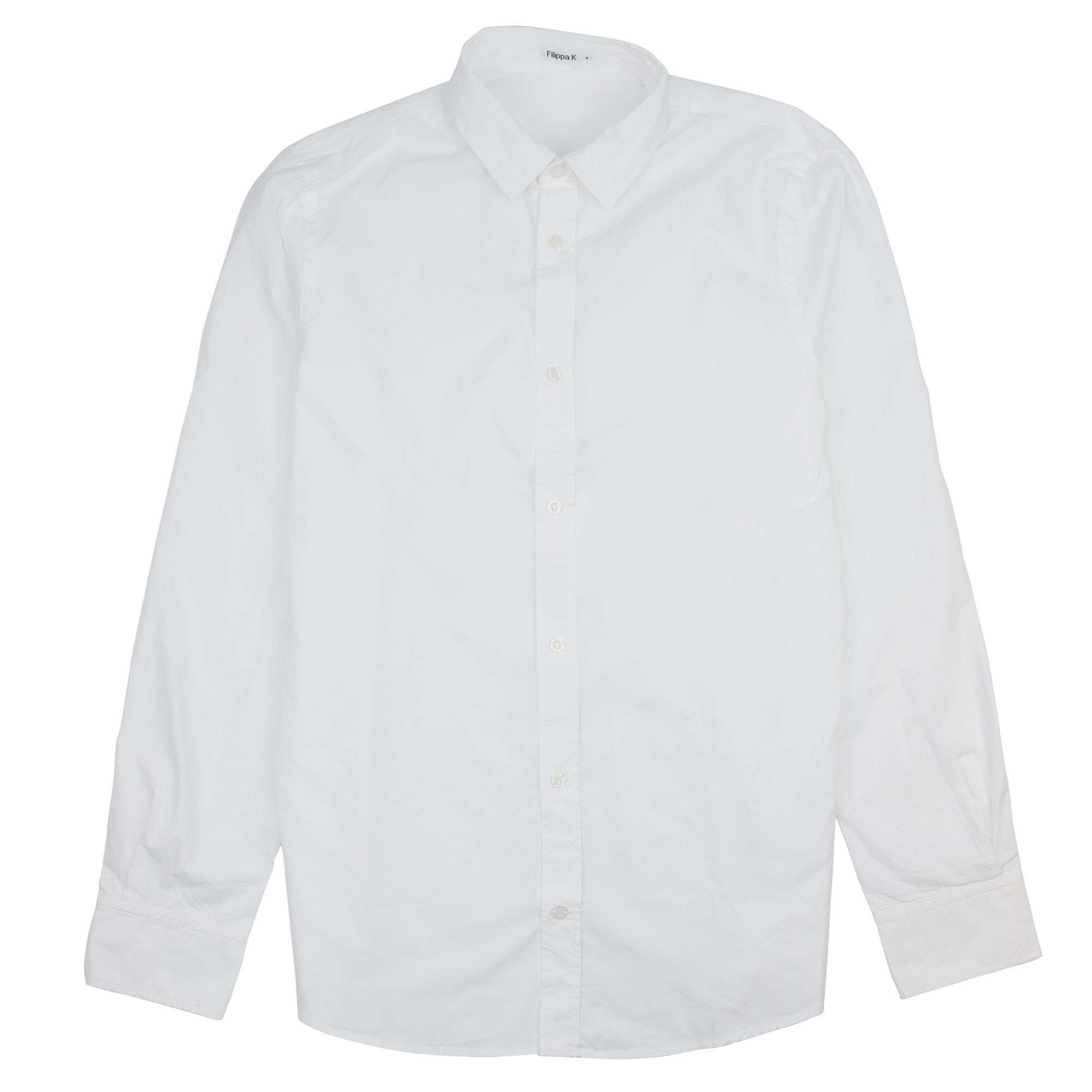 Filippa K Ben Washed Poplin Shirt - White