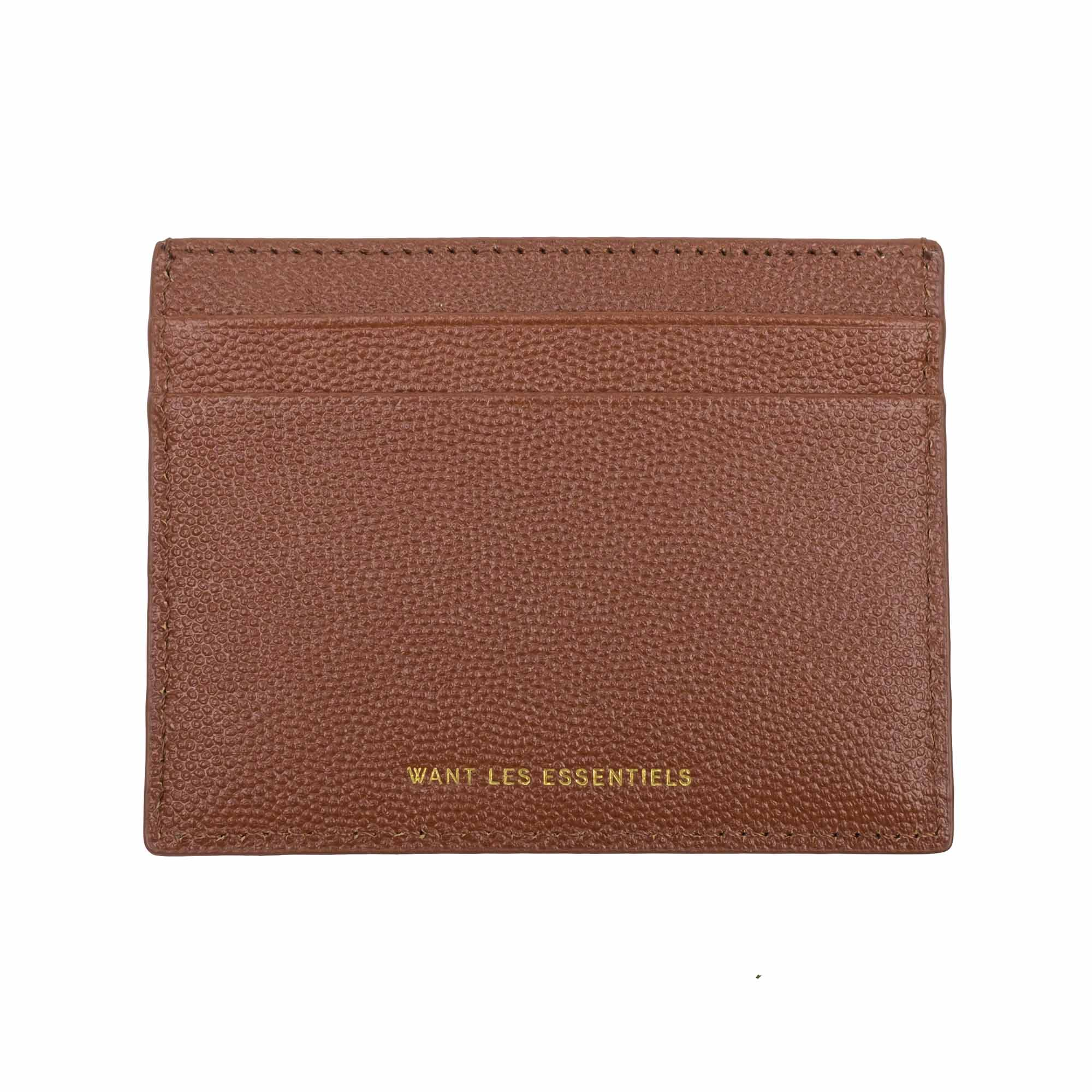 WANT Les Essentiels Branson Cardholder - Sequoia Caviar