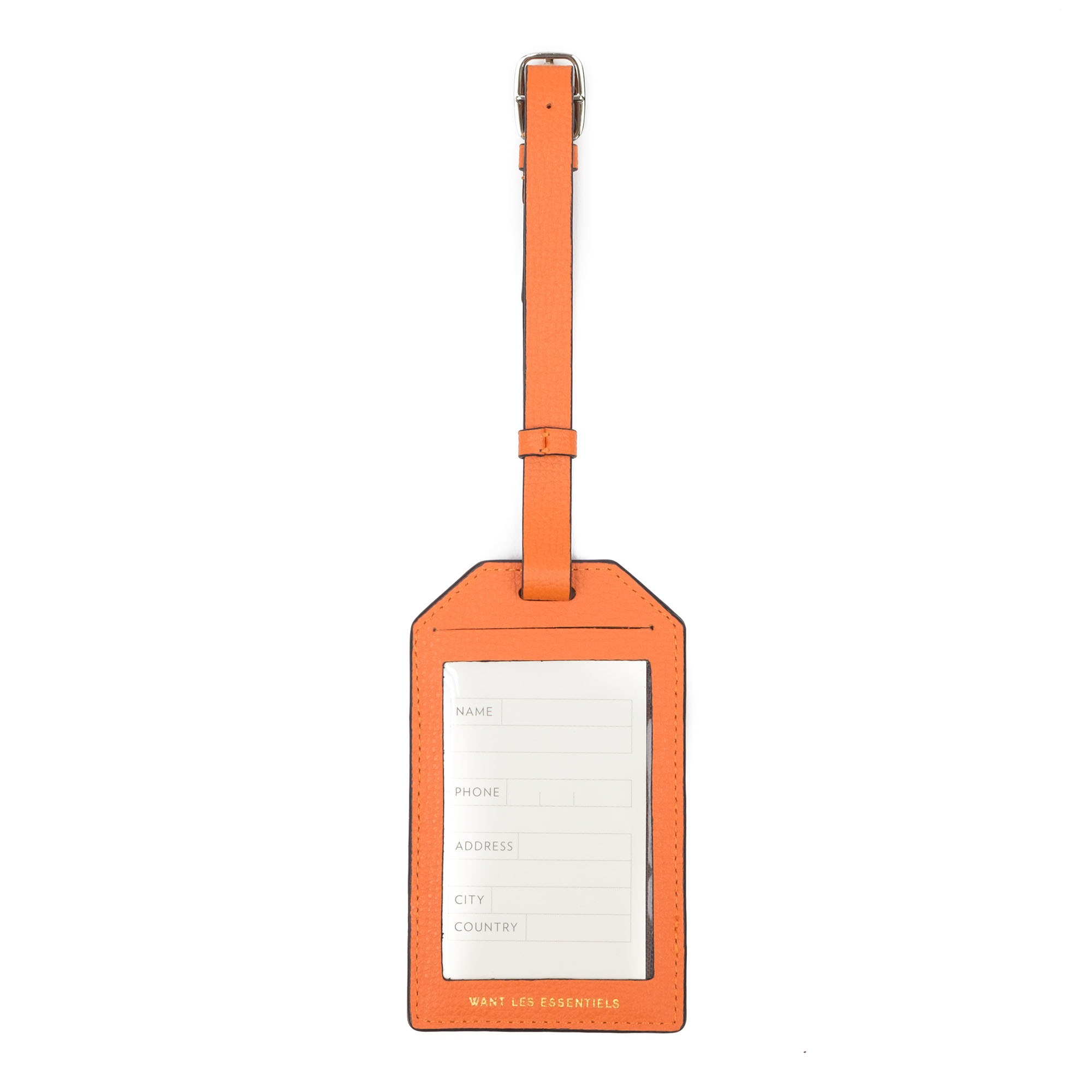 WANT Les Essentiels Changi Luggage Tag - Sunset grain
