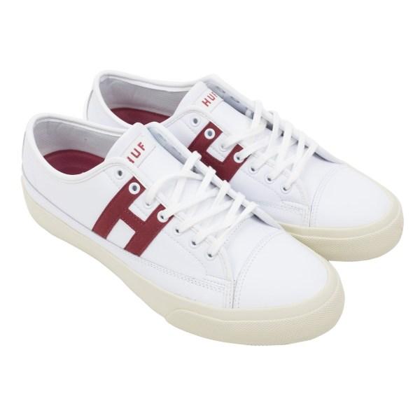 HUF Hupper 2 Lo - White
