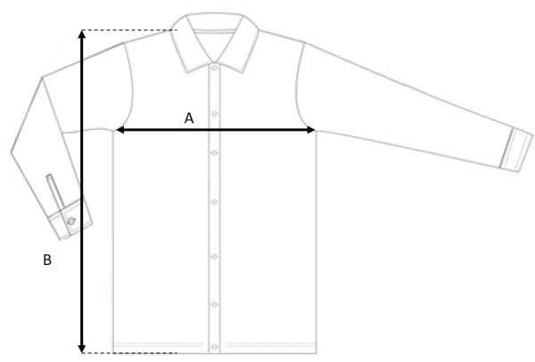 Kuro Dolman SS Shirt Size
