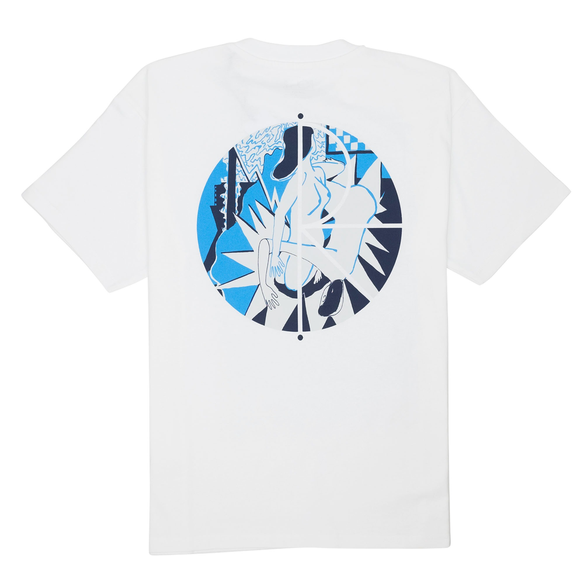 Polar Skate Co. 69 Fill Logo Tee - White